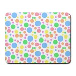 Pastel Bubbles Small Mouse Pad (Rectangle)