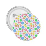 Pastel Bubbles 2.25  Button