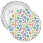 Pastel Bubbles 3  Button