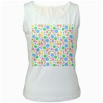 Pastel Bubbles Women s Tank Top (White)