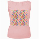 Pastel Bubbles Women s Tank Top (Pink)