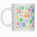 Pastel Bubbles White Coffee Mug