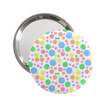 Pastel Bubbles Handbag Mirror (2.25 )