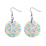 Pastel Bubbles Mini Button Earrings