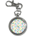 Pastel Bubbles Key Chain Watch