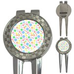 Pastel Bubbles Golf Pitchfork & Ball Marker