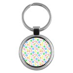 Pastel Bubbles Key Chain (Round)
