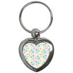 Pastel Bubbles Key Chain (Heart)