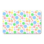 Pastel Bubbles Magnet (Rectangular)