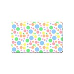 Pastel Bubbles Magnet (Name Card)