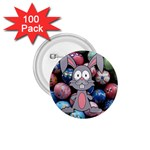 Easter Egg Bunny Treasure 1.75  Button (100 pack)