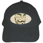 We The Anonymous People Black Baseball Cap