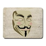 We The Anonymous People Small Mouse Pad (Rectangle)