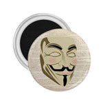 We The Anonymous People 2.25  Button Magnet