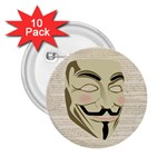 We The Anonymous People 2.25  Button (10 pack)
