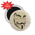 We The Anonymous People 2.25  Button Magnet (10 pack)