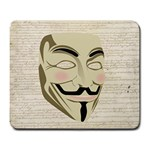 We The Anonymous People Large Mouse Pad (Rectangle)