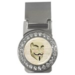 We The Anonymous People Money Clip (CZ)
