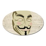 We The Anonymous People Magnet (Oval)
