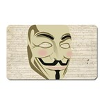 We The Anonymous People Magnet (Rectangular)