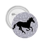 Unicorn on Starry Background 2.25  Button