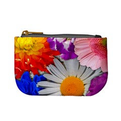 Lovely Flowers, Blue Coin Change Purse by ImpressiveMoments