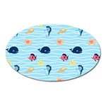Fun Fish of the Ocean Magnet (Oval)