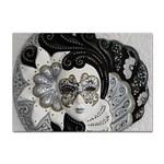 Venetian Mask A4 Sticker