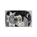 Venetian Mask Sticker 100 Pack (Rectangle)