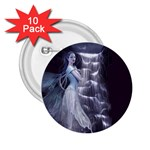 Dark Faery and Night Waterfall 2.25  Button (10 pack)