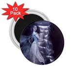 Dark Faery and Night Waterfall 2.25  Magnet (10 pack)