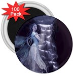 Dark Faery and Night Waterfall 3  Magnet (100 pack)
