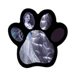 Dark Faery and Night Waterfall Magnet (Paw Print)