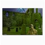 Gothic Fantasy Graveyard Postcard 4  x 6
