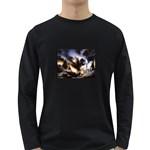 Gothic Unicorn Dark Storm Long Sleeve Dark T-Shirt