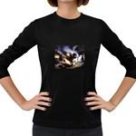 Gothic Unicorn Dark Storm Women s Long Sleeve Dark T-Shirt