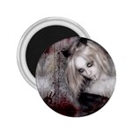 Vampire Goth Fairy on Bloody Background 2.25  Magnet
