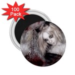 Vampire Goth Fairy on Bloody Background 2.25  Magnet (100 pack)