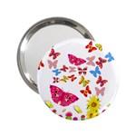 Butterfly Beauty Handbag Mirror (2.25 )