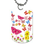 Butterfly Beauty Dog Tag (One Sided)