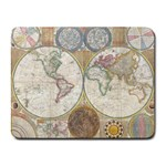 1794 World Map Small Mouse Pad (Rectangle)