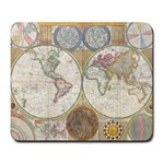 1794 World Map Large Mouse Pad (Rectangle)