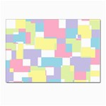 Mod Pastel Geometric Postcards 5  x 7  (10 Pack)