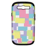 Mod Pastel Geometric Samsung Galaxy S III Hardshell Case (PC+Silicone)