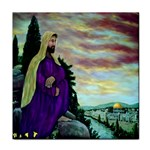 Jesus, A Man Of Sorrows   Ave Hurley   Tile Coaster