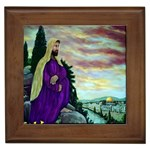 Jesus, A Man Of Sorrows   Ave Hurley   Framed Tile
