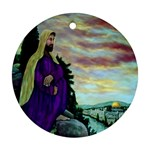 Jesus, A Man Of Sorrows   Ave Hurley   Ornament (Round)