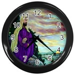 Jesus, A Man Of Sorrows   Ave Hurley   Wall Clock (Black)