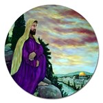 Jesus, A Man Of Sorrows   Ave Hurley   Magnet 5  (Round)