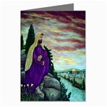 Jesus- A Man of Sorrows - Ave Hurley - Greeting Card